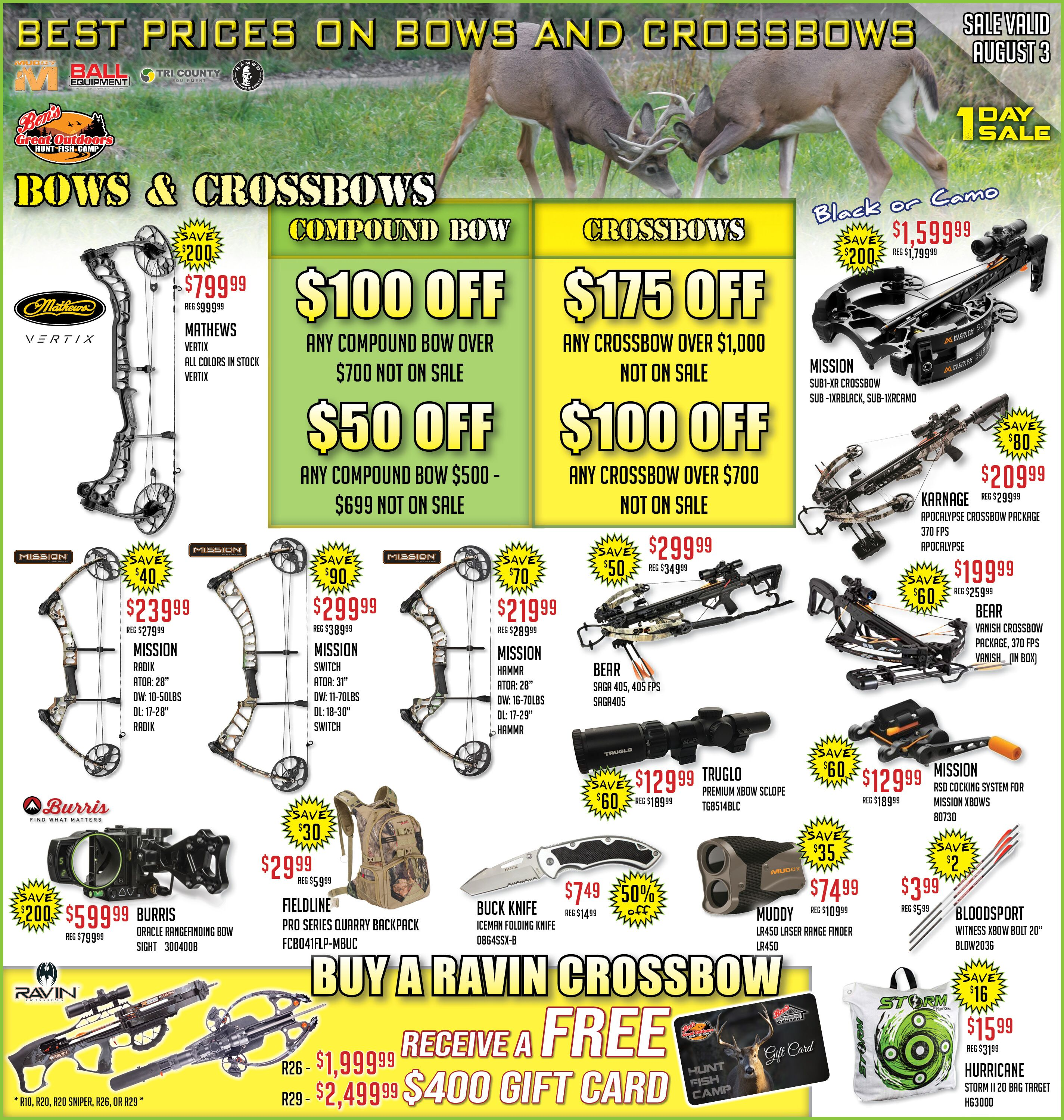 Weekly Ad | Ben's Great Outdoors